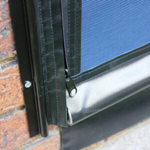 Cord and Pulley Cafe Blinds